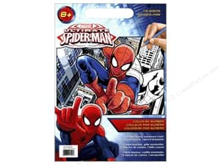 """Paintworks Color By Number 9""""x 12"""" Spiderman"""