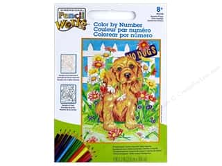 Paintworks Color By Number Naughty Puppy