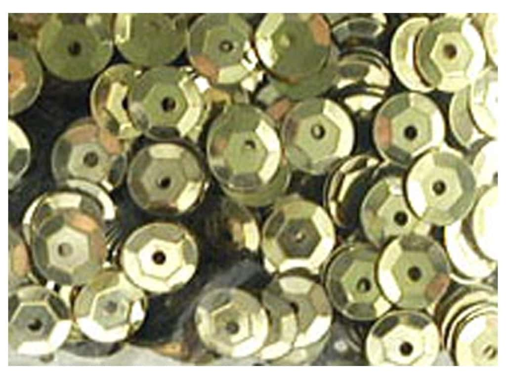 Accent Design 5 mm Cupped Sequins 800 pc. Gold AD11135P.4