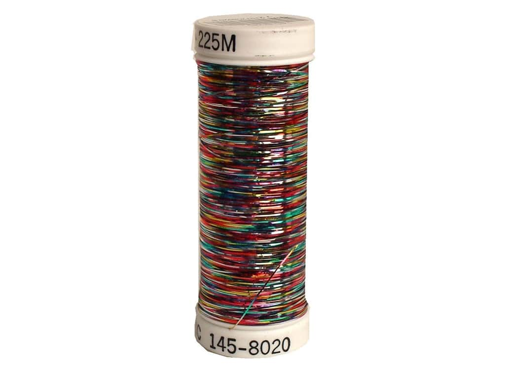 Sulky Silver Metallic Thread 250 yd. #8020 Multi-Color Vibrant 145.8020
