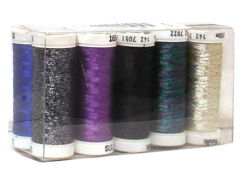 Sulky Original Metallic Thread Top 10 Sampler 142-01