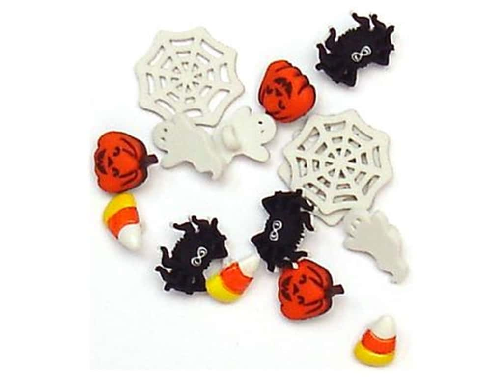 Jesse James Dress It Up Embellishments Halloween Collection Things That Make You Go Boo 1202