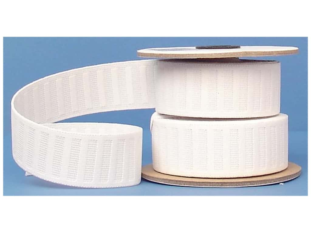Conrad Jarvis No Roll Elastic Reel 1 1/2 in x 10 yd White
