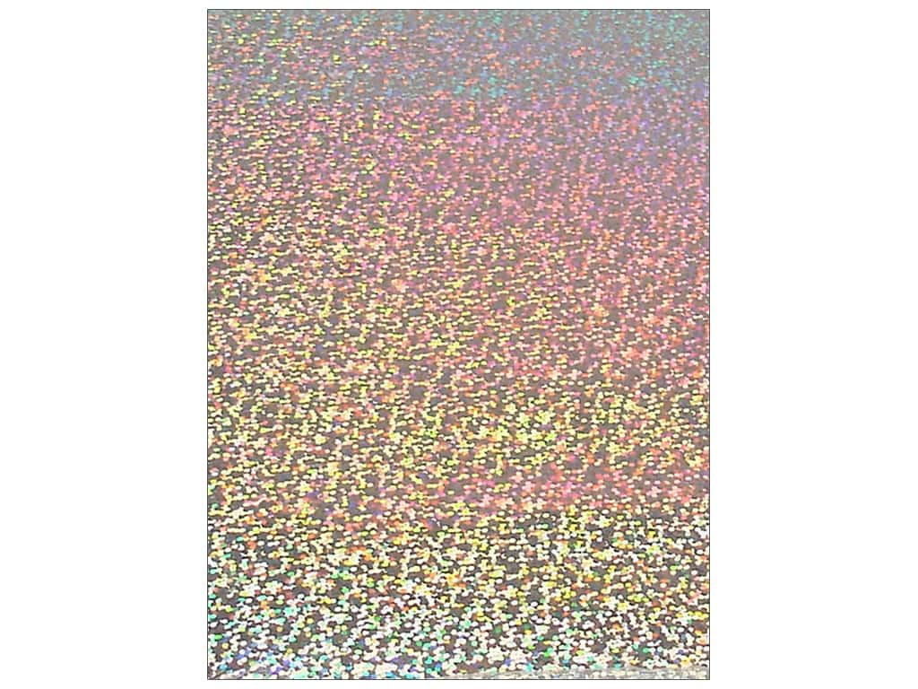 Grafix Funky Film 9 x 12 in. Silver Sequins 12 pc. FFSS