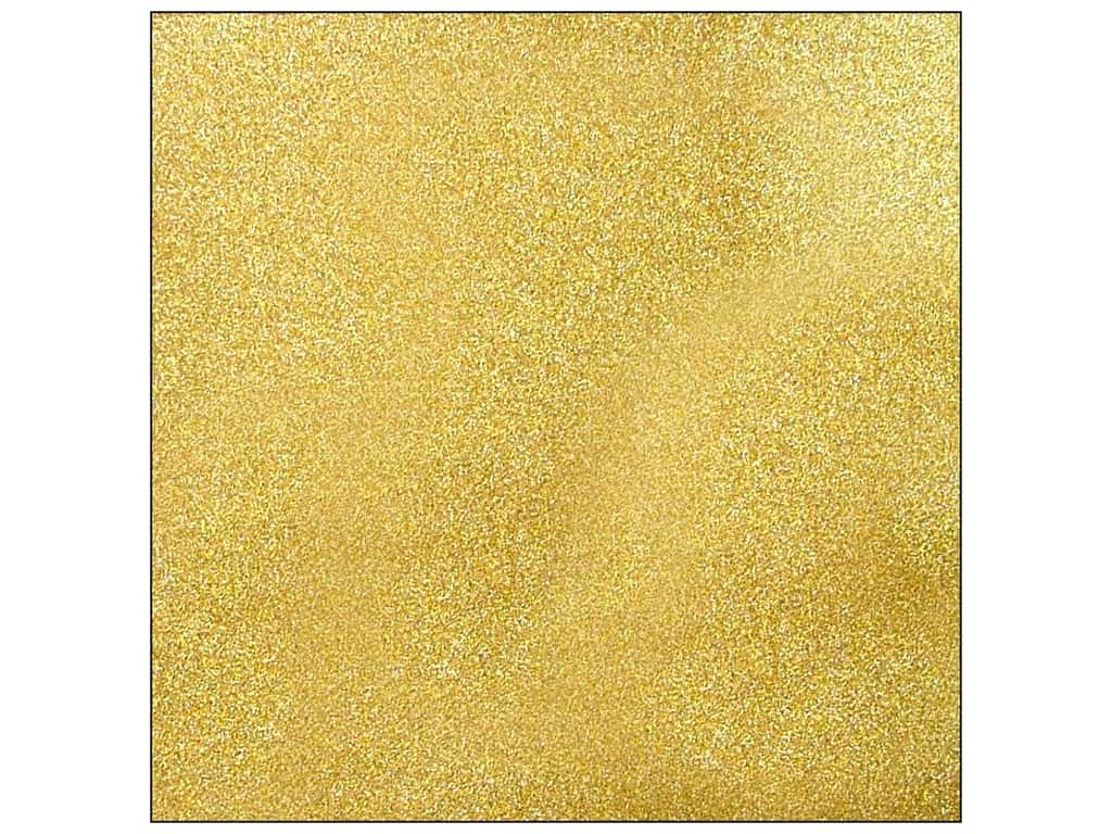 American Crafts 12 x 12 in. Cardstock Glitter Gold AM714-17