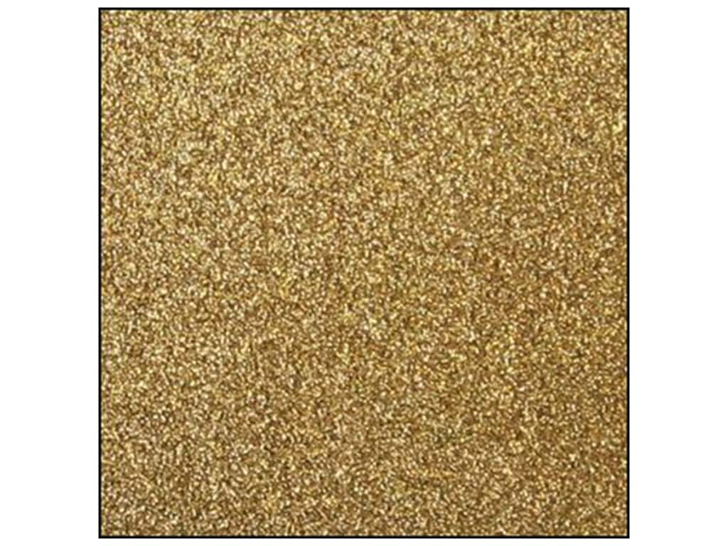 Best Creation 12 x 12 in. Cardstock Glitter Gold GCS010