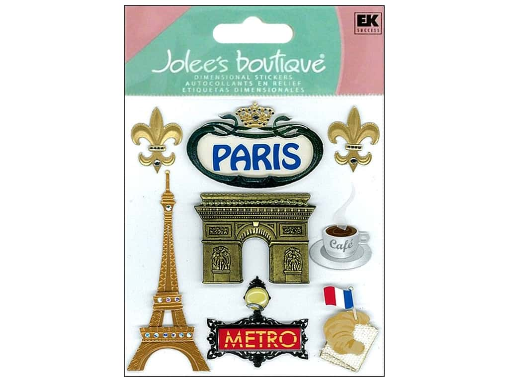 Jolee's Boutique Stickers Paris