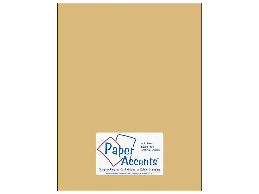 Paper Accents Cardstock 8 1/2 x 11 in. #18070 Smooth Quick Sand