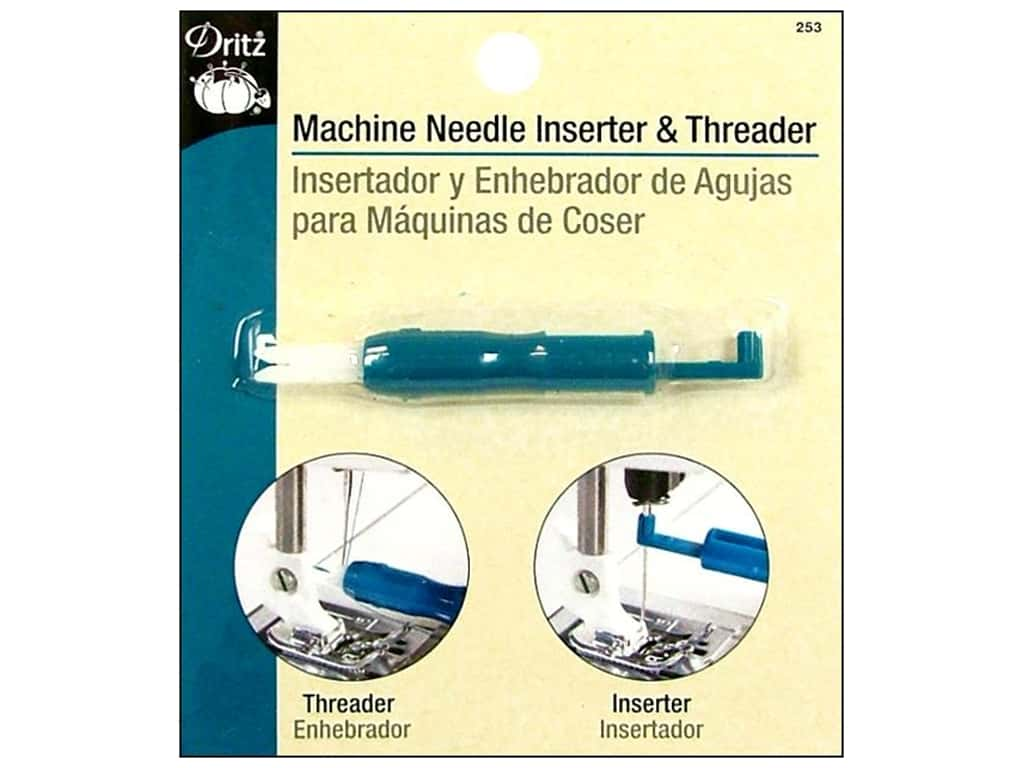 Machine Needle Inserter and Threader by Dritz 253