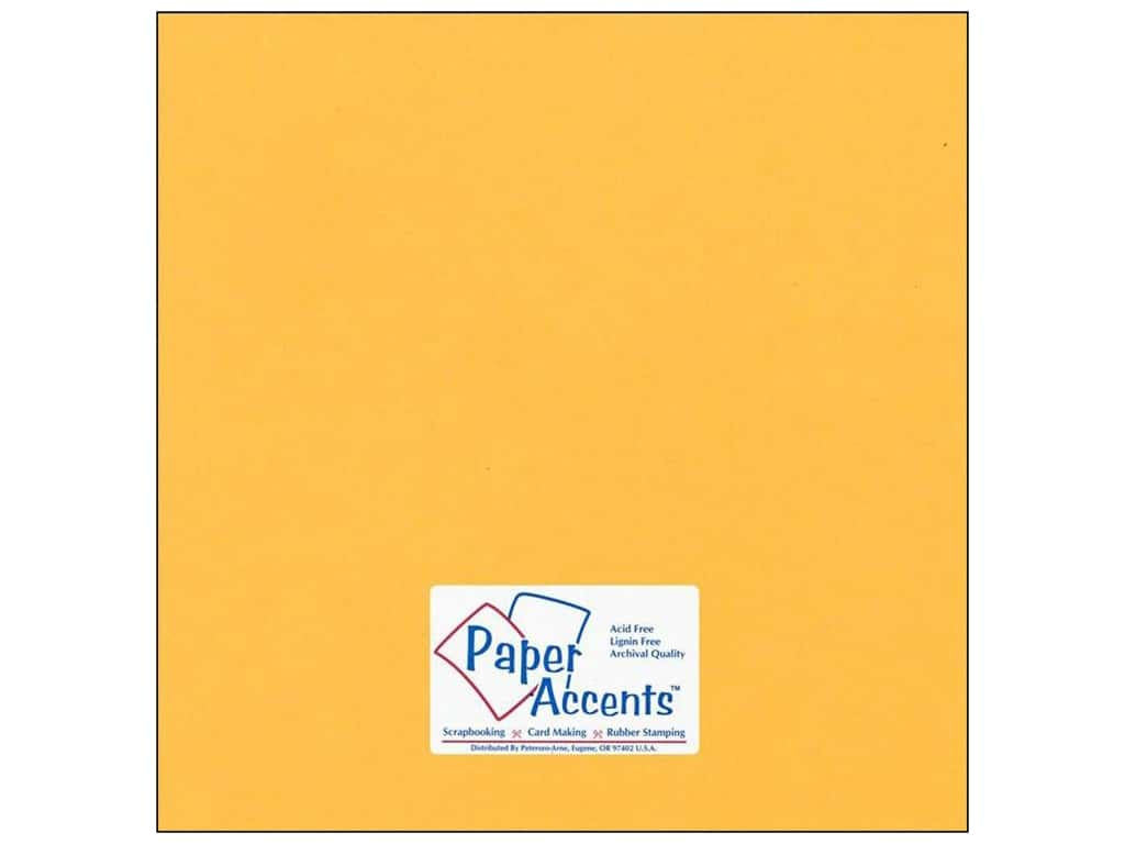 Cardstock 12 x 12 in. #75 Smooth Dusty Gold by Paper Accents ADP1212-25.75