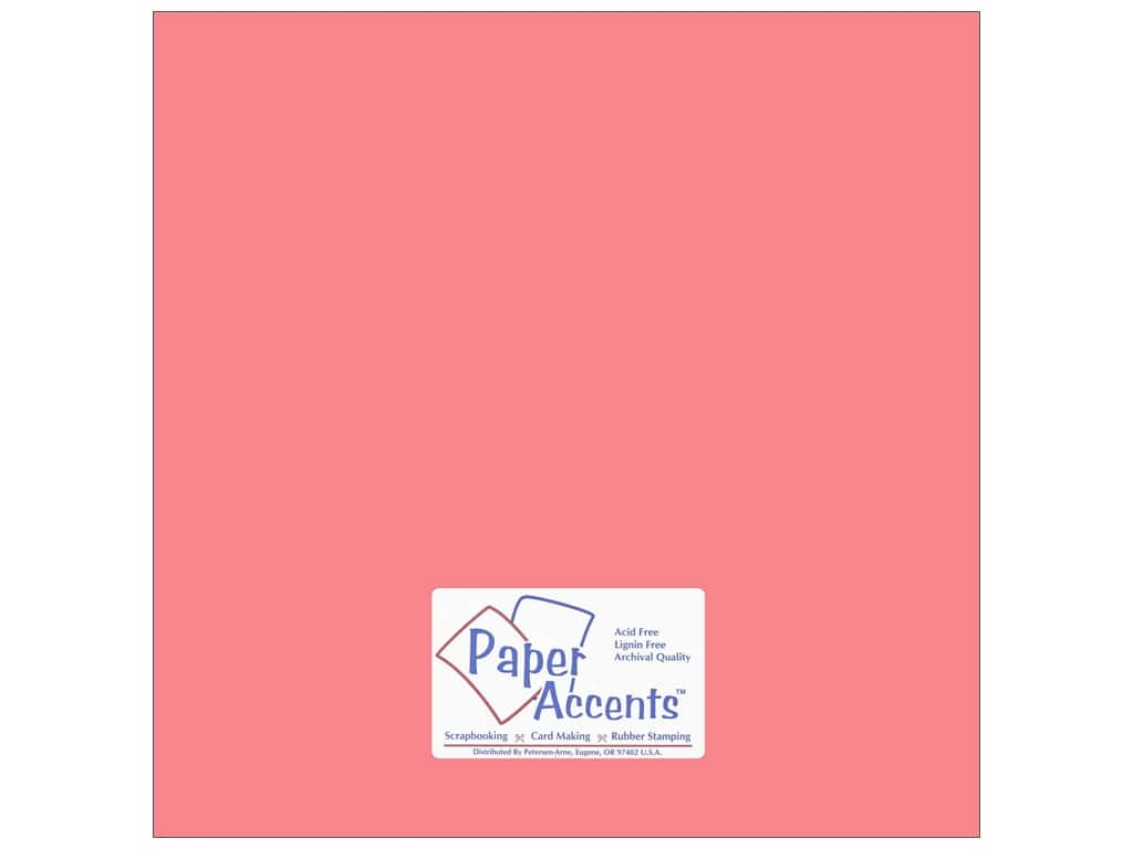 Cardstock 12 x 12 in. #18006 Smooth Roses Are Red by Paper Accents ADP1212-25.18006