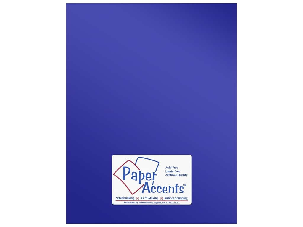 Paper Accents Anodized Cardstock 8 1/2 x 11 in. #8835 Victory Lane ADP8511-25.8835