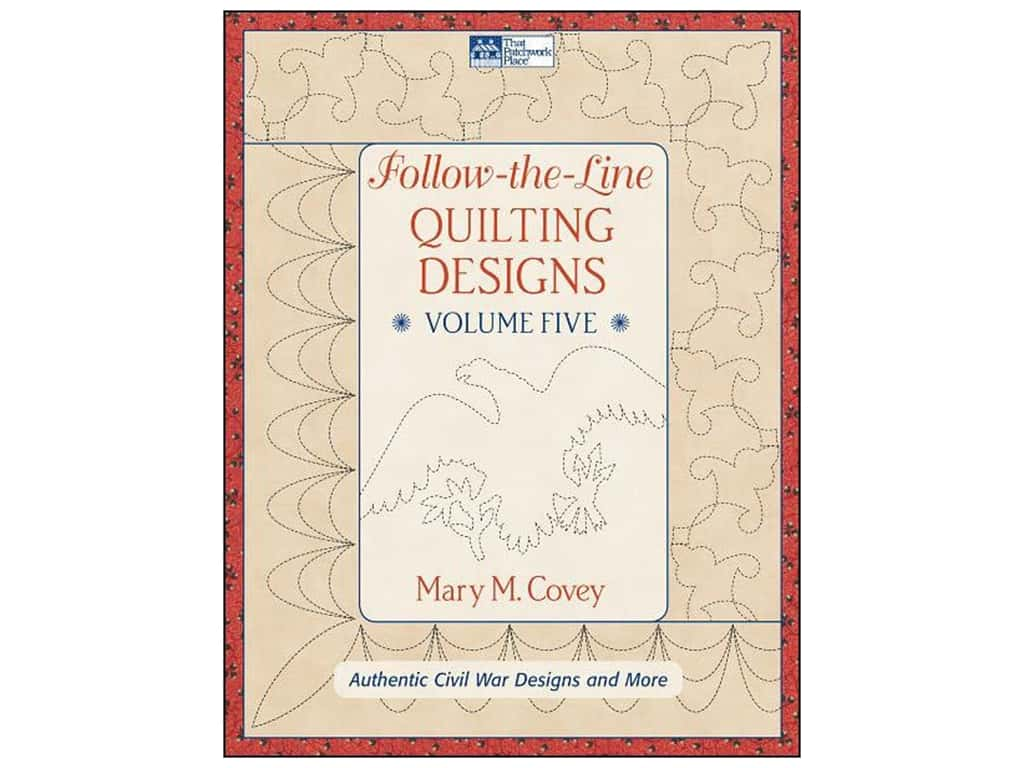 Follow The Line Quilting Designs Mary Covey : Follow The Line Quilting Designs Vol 5 Book 1604681616 eBay