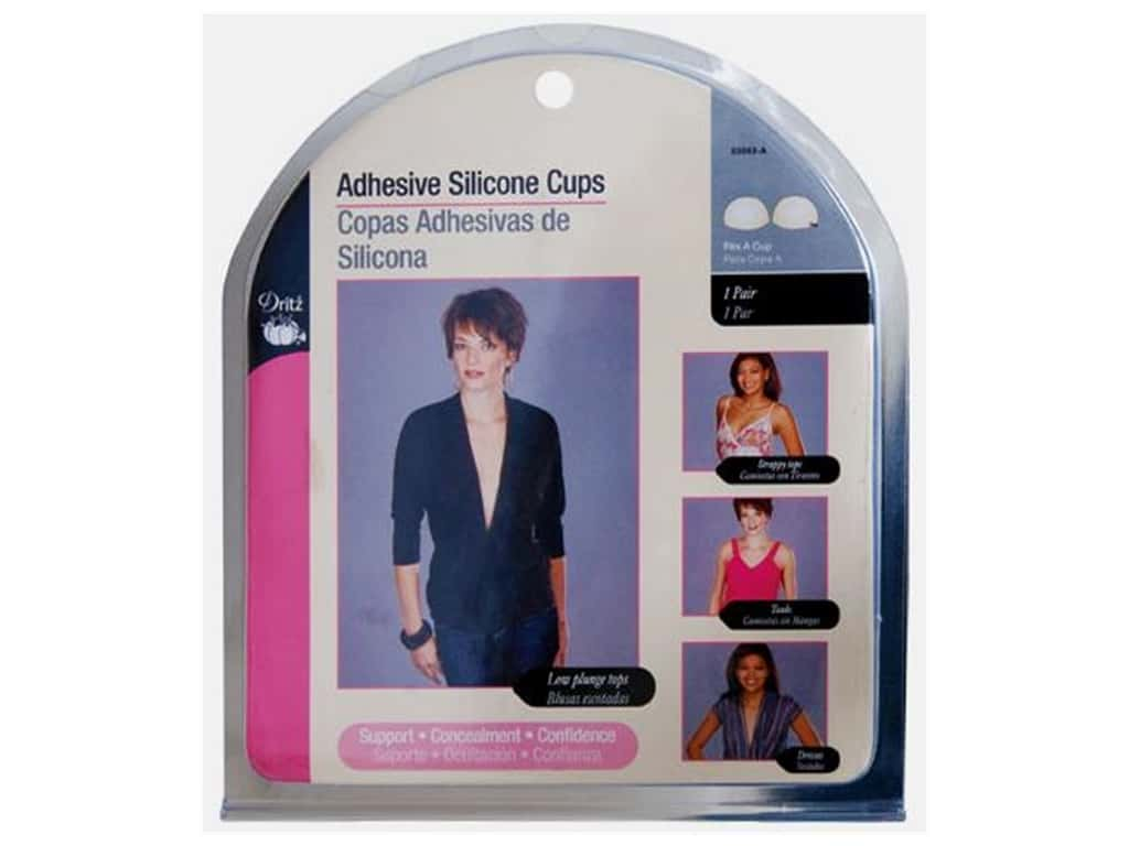 Adhesive Silicone Cups by Dritz Size A 53093-A
