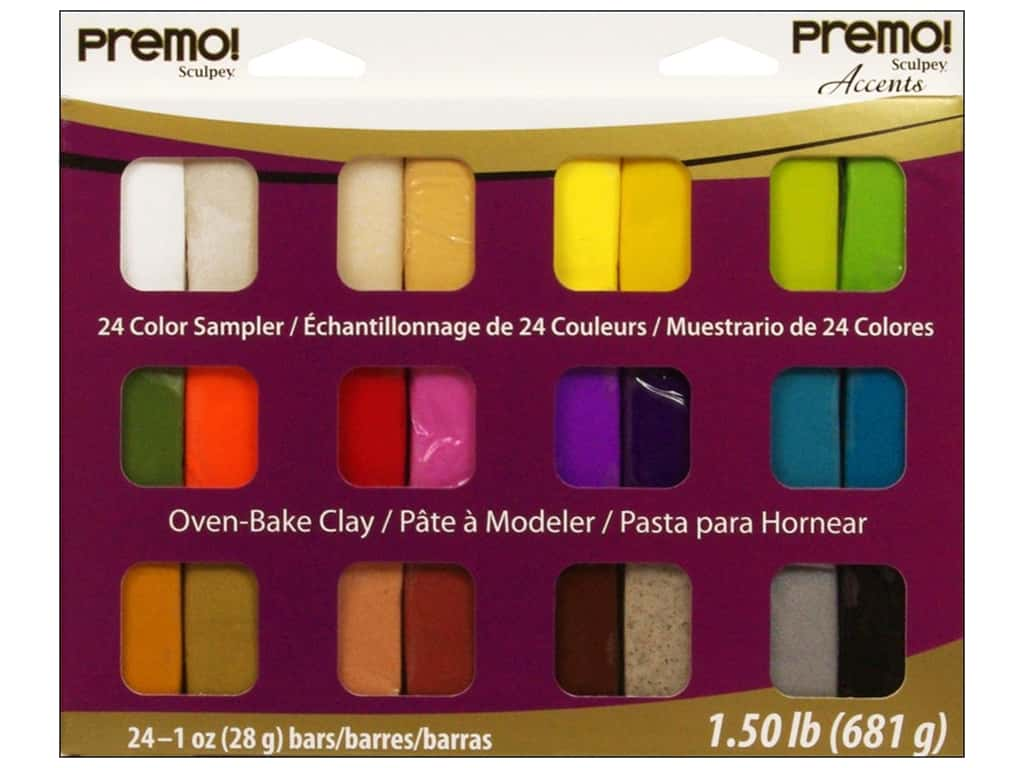 Premo! Sculpey Sampler Packs 24 pc. PEMP024