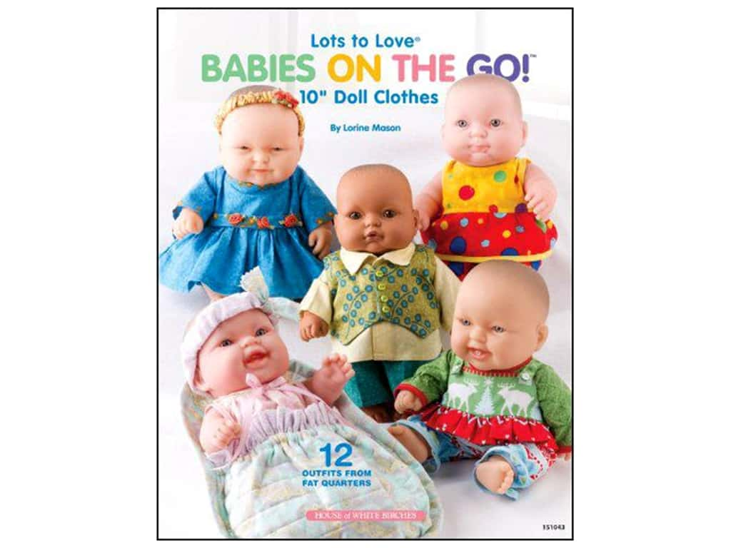 House of White Birches Babies On The Go Book
