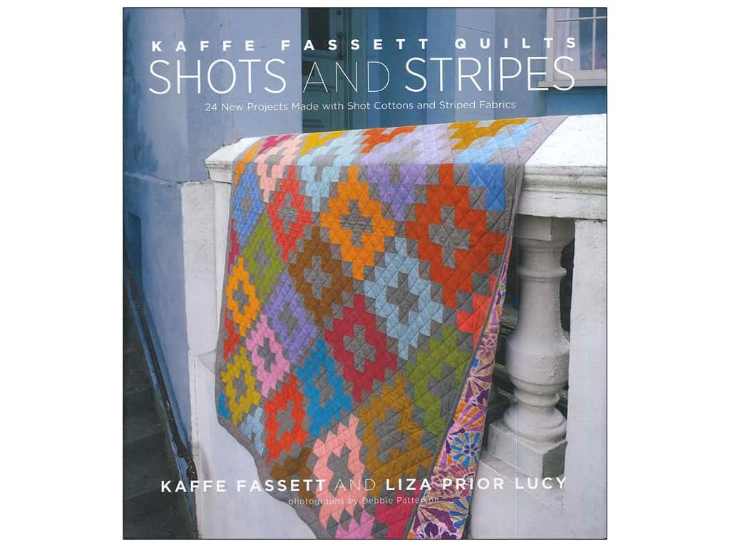 Stewart Tabori & Chang Kaffe Fassett Quilts Shots And Stripes Book by Kaffe Fassett and Liza Prior Lucy