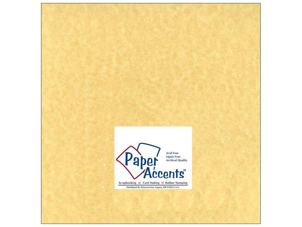 Cardstock 12 x 12 in. #211 Parchment Ancient Gold by Paper Accents ADP1212-25.211