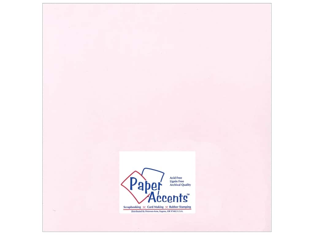 Cardstock 12 x 12 in. Smooth Nude by Paper Accents ADP1212-25.18061