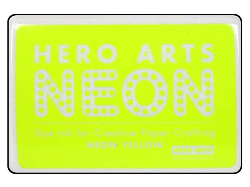 Hero Arts Neon Dye Ink Pad Neon Yellow AF220