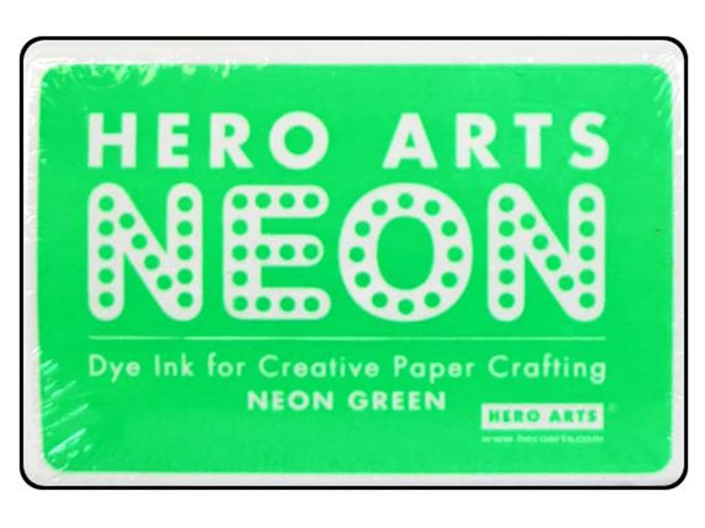 Hero Arts Neon Dye Ink Pad Neon Green AF221