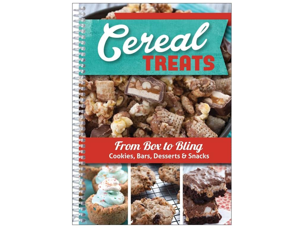 CQ Products Cereal Treats Book