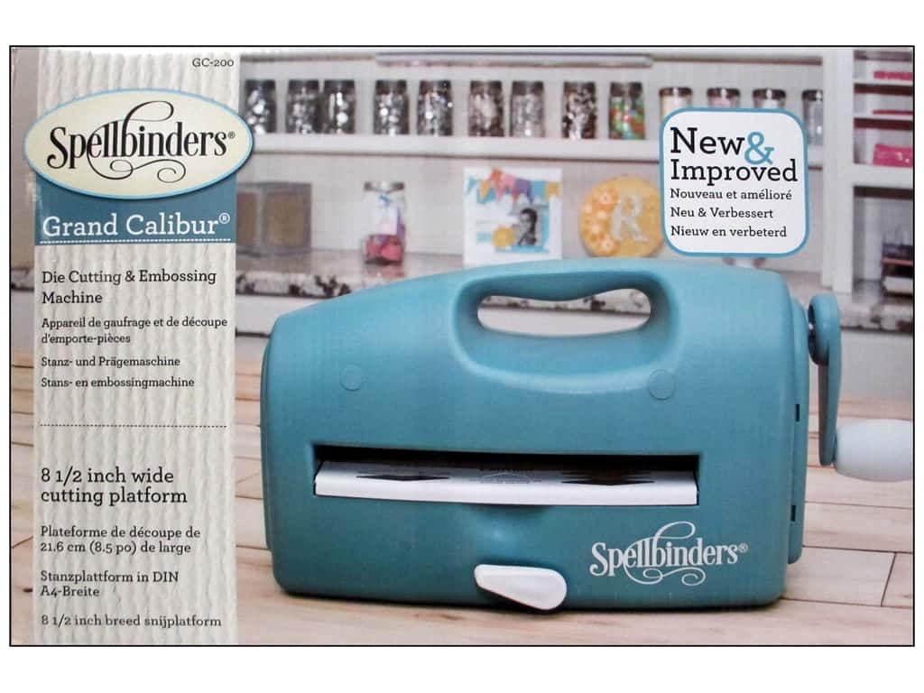 Spellbinders Grand Calibur Die Cutting & Embossing Machine - Teal GC-200
