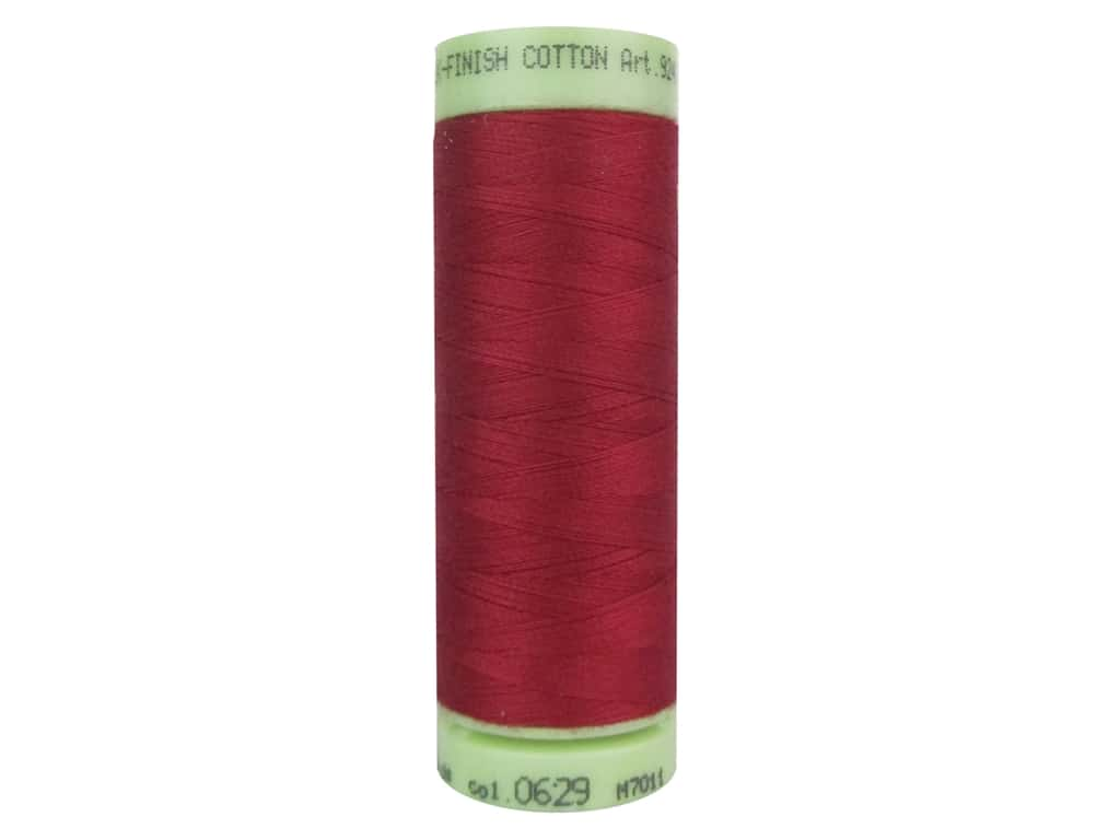 Mettler Silk Finish Cotton Thread 60 wt. 220 yd. #0629 Tulip