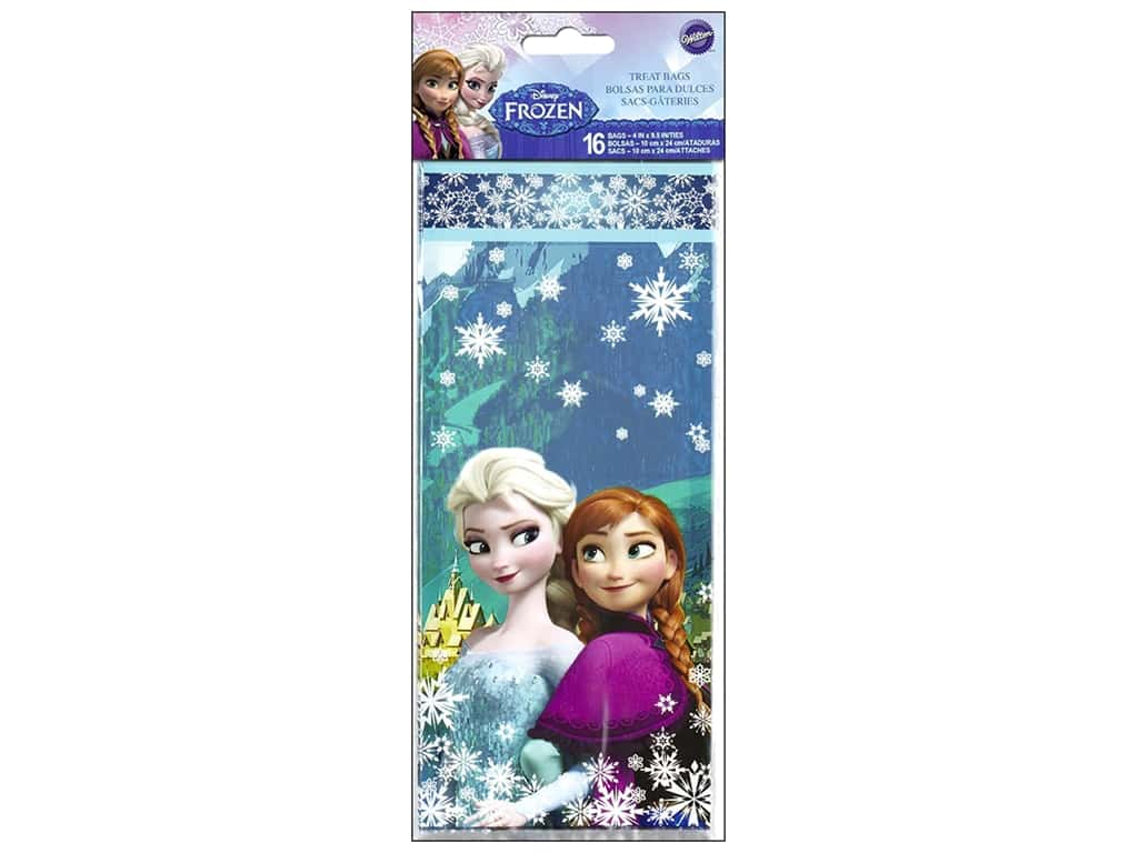 Wilton Containers Treat Bags Disney Frozen 16pc