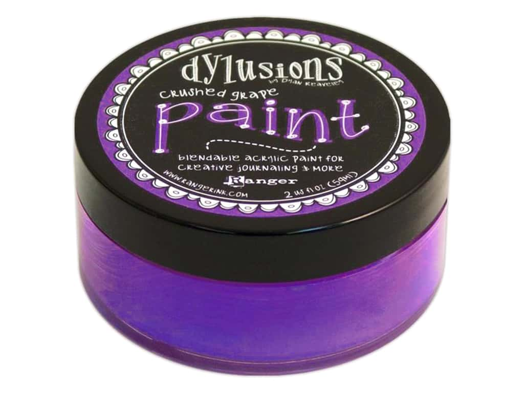 Ranger Dylusions Paint 2 oz. Crushed Grape DYP45960