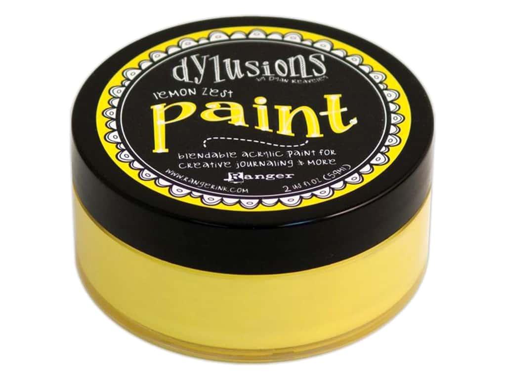 Ranger Dylusions Paint 2 oz. Lemon Zest DYP45991