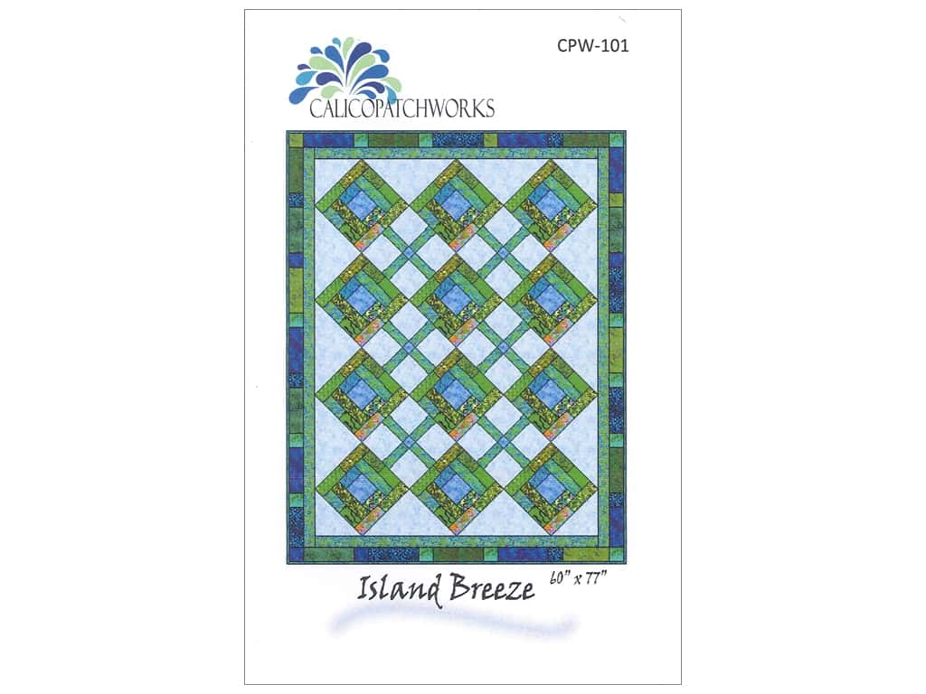QuiltWoman.com Patterns Island Breeze Pattern CPW-101