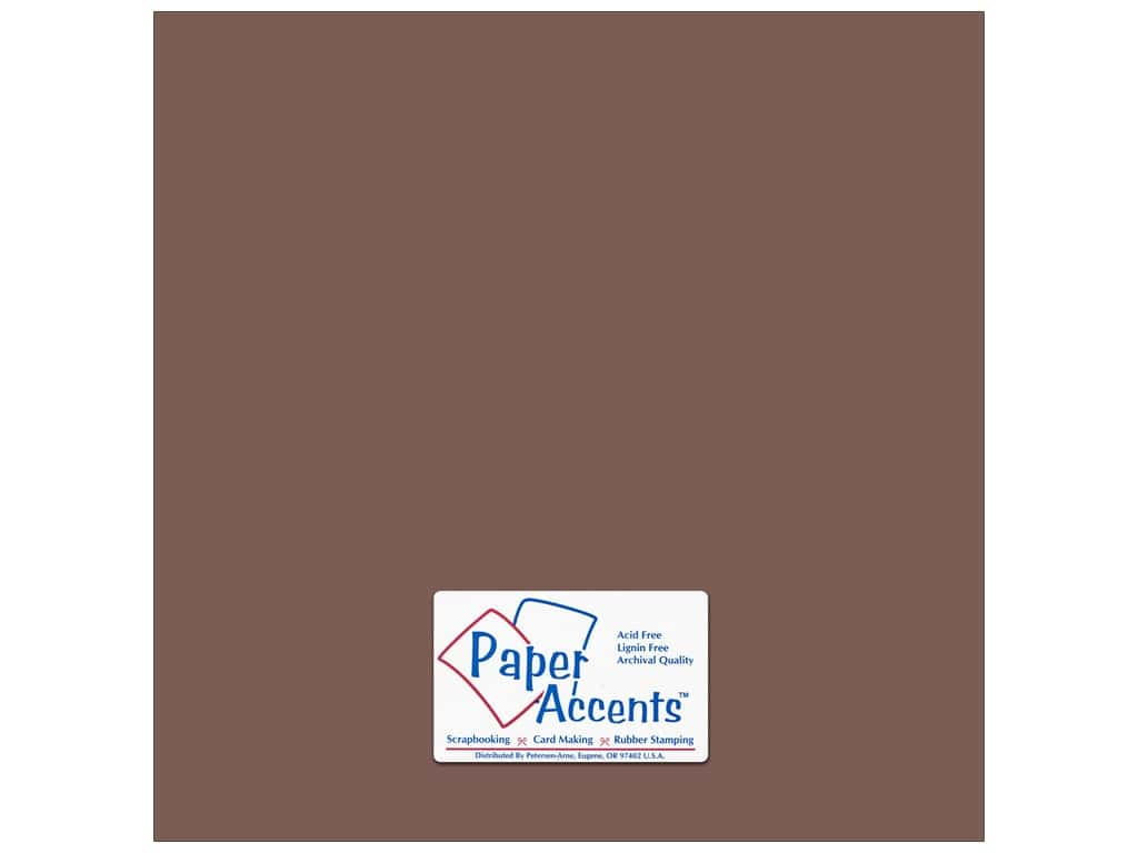 Paper Accents Cardstock 12 x 12 in. #18071 Smooth Pinecone