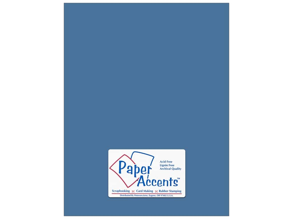 Paper Accents Cardstock 8 1/2 x 11 in. Smooth North Sea