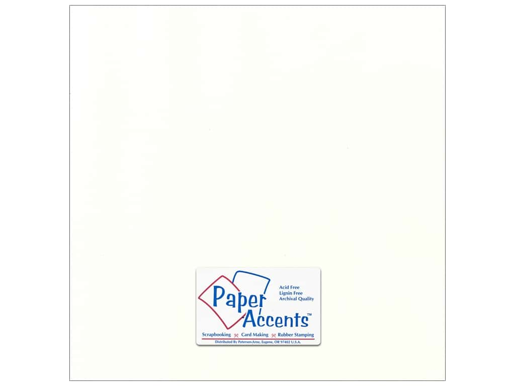 Cardstock 12 x 12 in. Canvas Muslin by Paper Accents ADP1212-25.58808