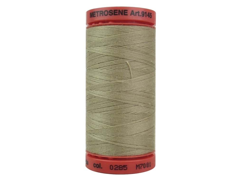 Mettler Metrosene All Purpose Thread 547 yd. #0285 Taupe 9145-0285