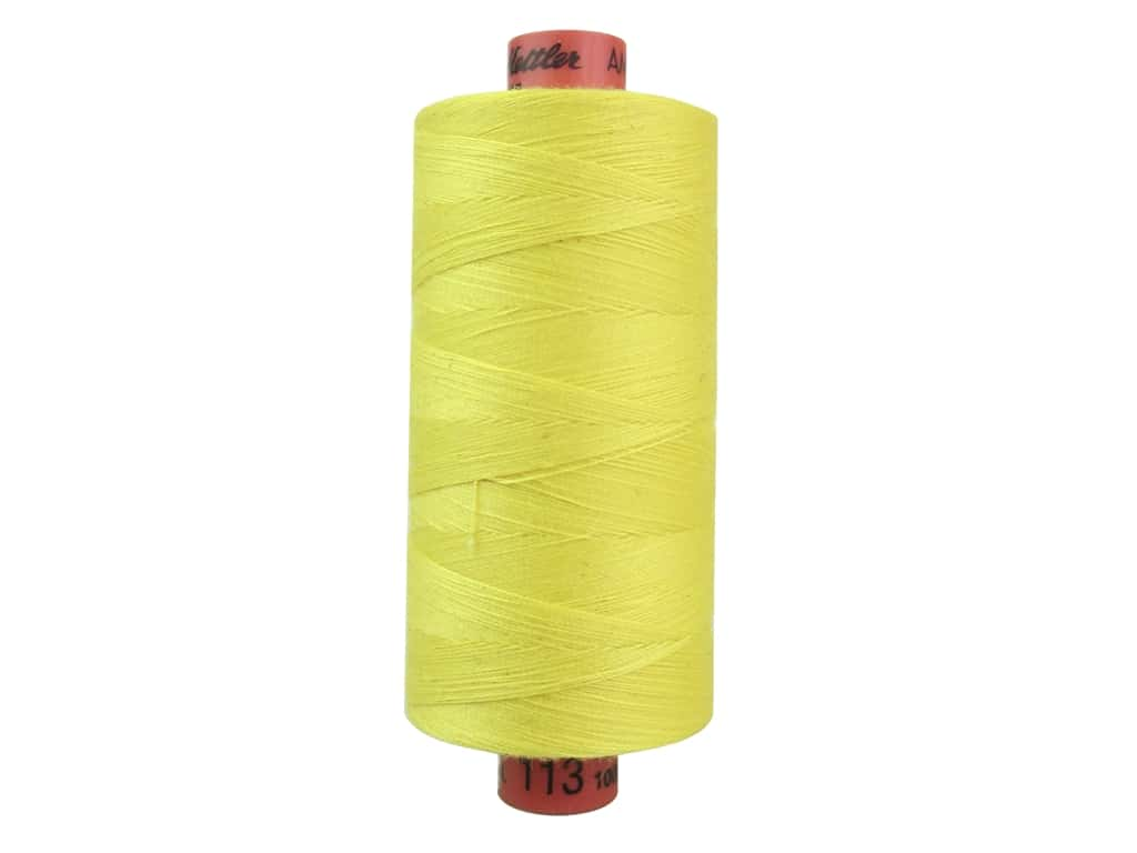 Mettler Metrosene All Purpose Thread 1094 yd. #500 Butter Cup 1155-0500