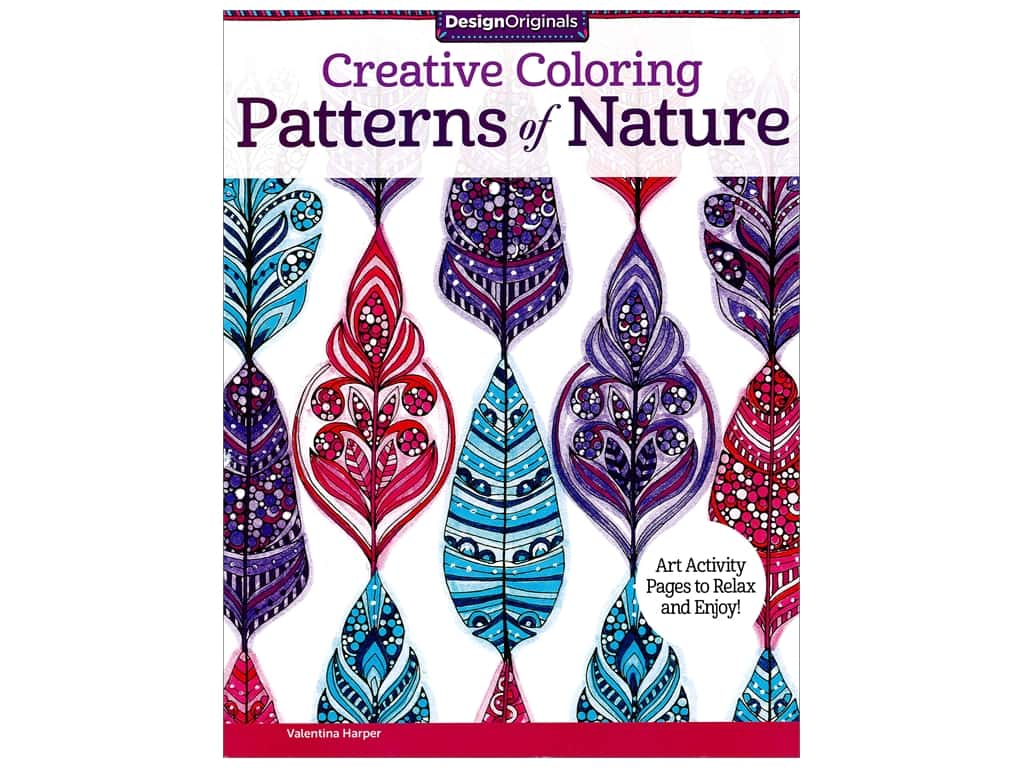 Design Originals Pattrns Of Nature Coloring Book