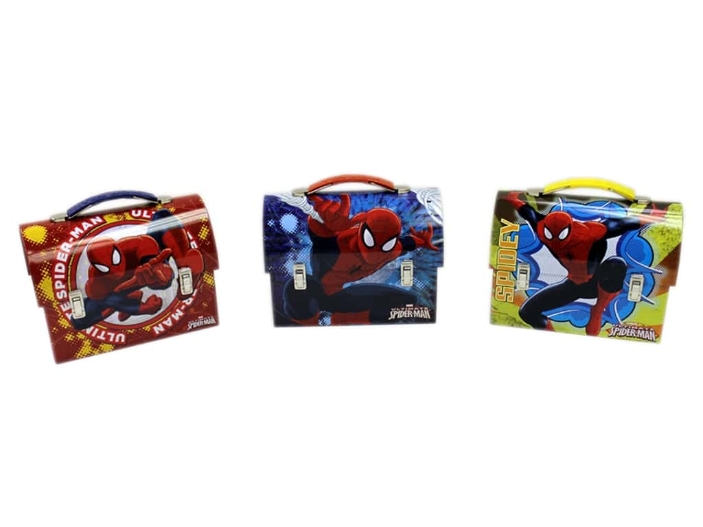 Tin Box Co Workman Carry All Marvel Spider Man 1 pc.