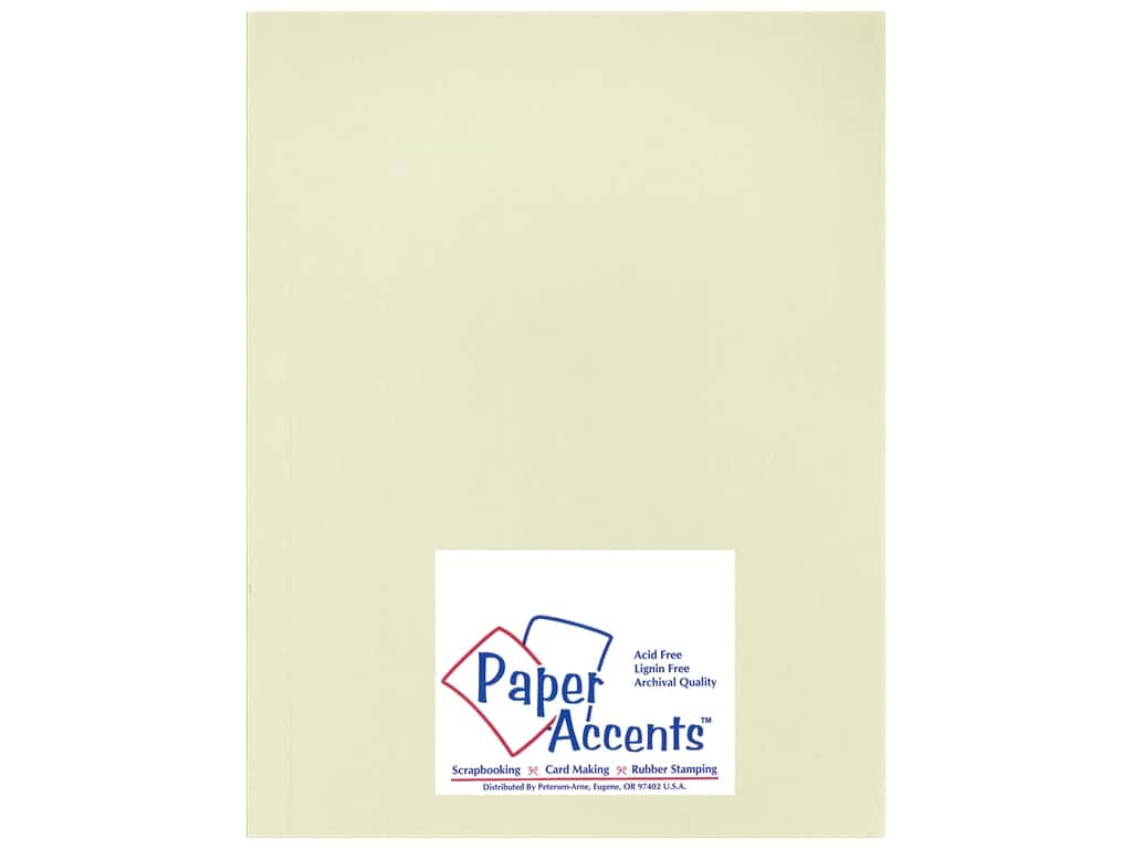 Paper Accents Cardstock 8 1/2 x 11 in. #18803 Heavyweight Smooth Shale ADP8511-25.18803