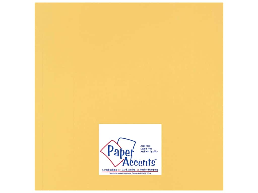 Cardstock 12 x 12 in. Heavyweight Smooth Antique Gold by Paper Accents ADP1212-25.14403