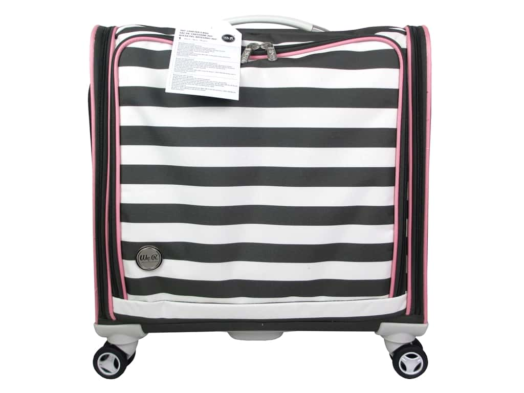 We R Memory Keepers 360 Crafter's Rolling Bag Black
