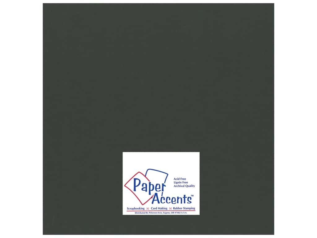 Cardstock 12 x 12 in. Smooth Pine Needle by Paper Accents ADP1212-25.18028
