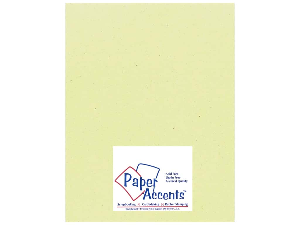 Cardstock 8 1/2 x 11 in. Smooth Spring Breeze by Paper Accents ADP8511-25.18021