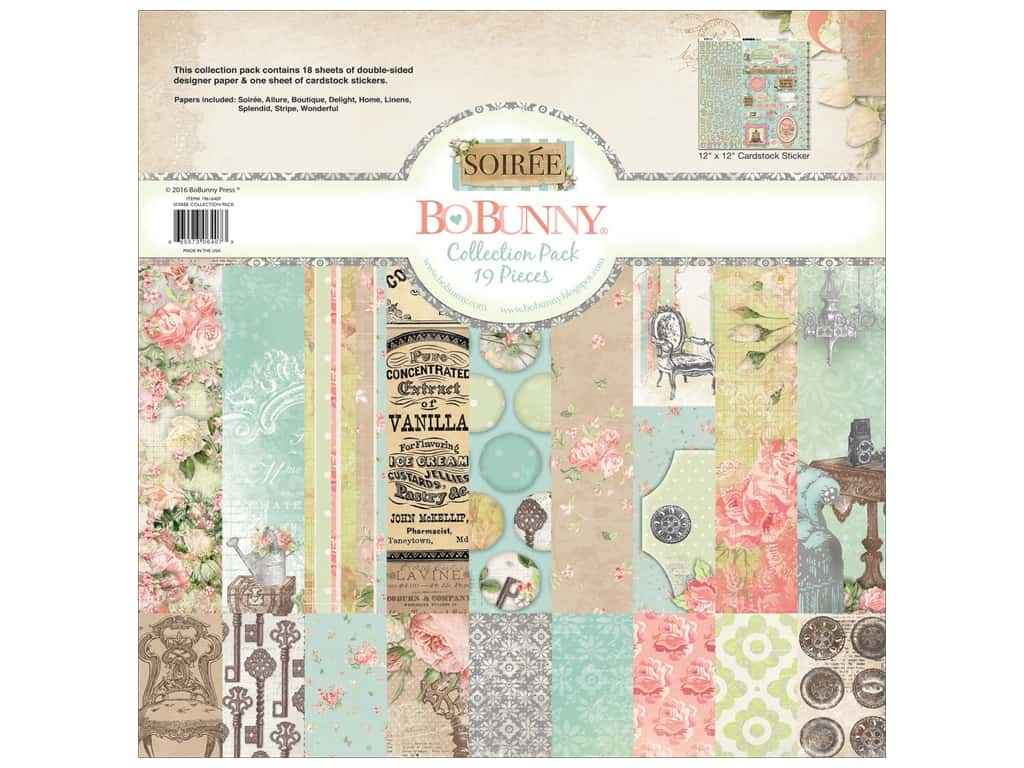 Bo Bunny 12 x 12 in. Collection Pack Soiree