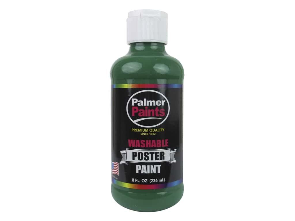 Palmer Washable Poster Paint 8 oz. Green 122808
