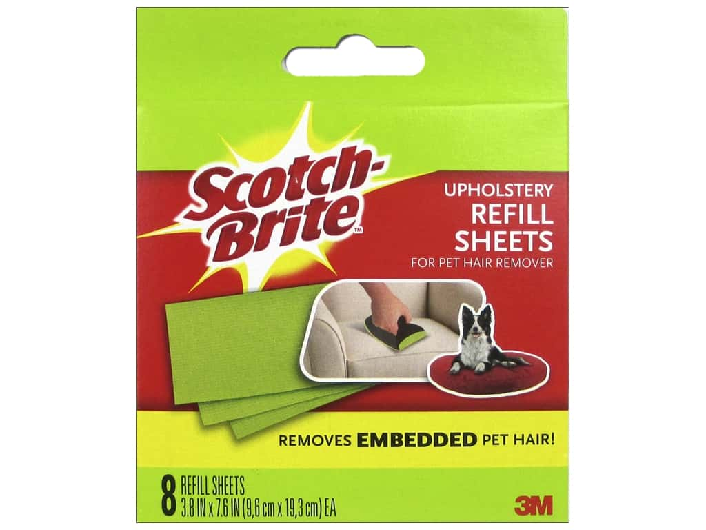 Scotch Fur Fighter Hair Remover Refill Sheets 8pc