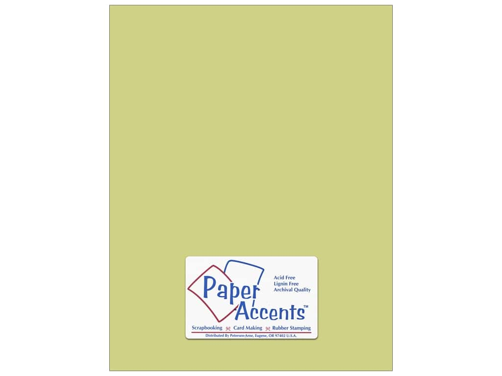 Paper Accents Cardstock 8 1/2 x 11 in. #8025 Muslin River Reed ADP8511-25.8025