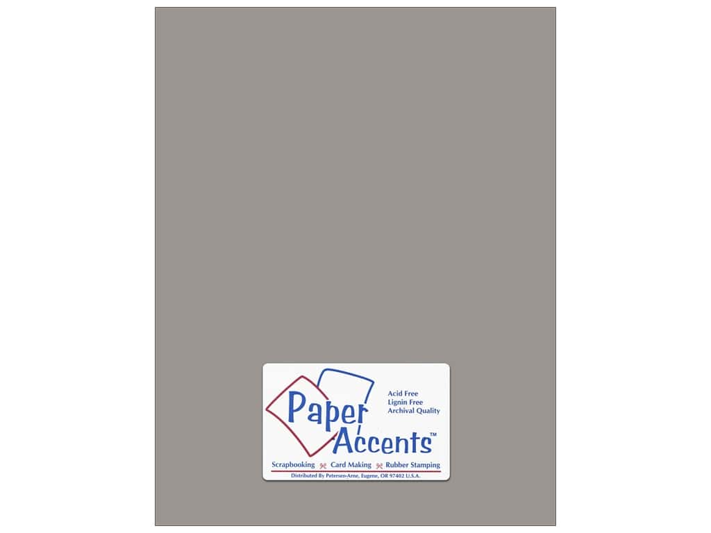 Paper Accents Cardstock 8 1/2 x 11 in. #8079 Muslin Nor'easter ADP8511-25.8079