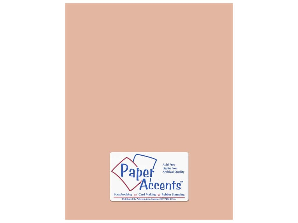 Paper Accents Cardstock 8 1/2 x 11 in. #8065 Muslin Iced Cocoa ADP8511-25.8065